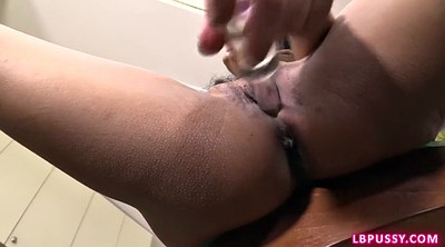 Shemale pov, Post op, Asian dildo