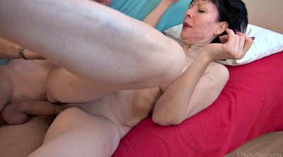 Old mom, Seduced mom, Seduce mom, Mom milf