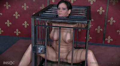 Bondage, Cage, Mature bdsm, Mature whore