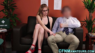 Upskirt, Cfnm, Glass