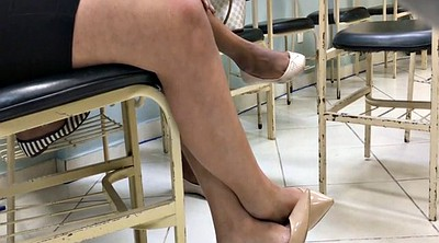 High heels, High-heeled, Tatoo, Dangling, High heeled, Candid feet