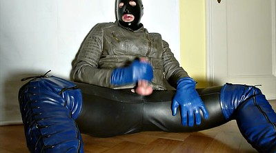Cd, Boot, Leather, Gloves, Sperm, Gloved