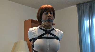 Mask, Crossdress, Sandra, Intruder, Crossdress bondage