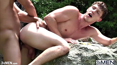 Outdoor, Muscular, Gay cocks