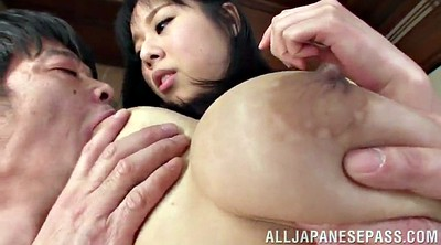 Licking pussy, Asian tits