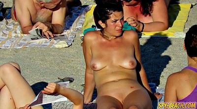 Nudist, Spying, Beach nudist