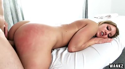 Oiled, Spanked and fucked, Candice dare, Candice, Ass oil, Ass massage