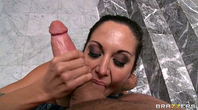Ava addams, In the shower