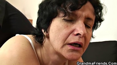 Old pussy, Matures, Granny swallows, Gangbang swallow