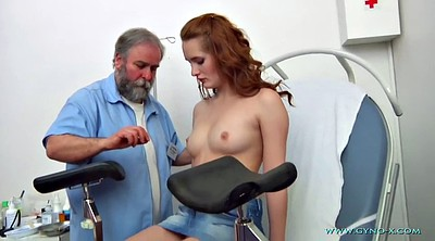 Nurse, Gyno, Foot fetish, Exam