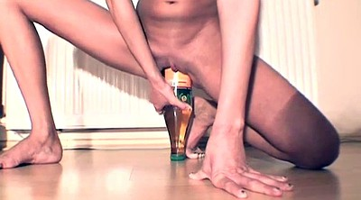 Huge dildos, Bottle, Skinny girl, Wife dildo, Dildo orgasm