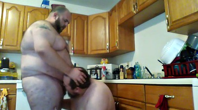 Fat bear, Kitchen, Fat gay