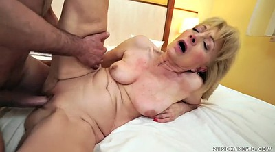 Licking, Europe, Senior, Mature amateur, Old pussy, Granny missionary