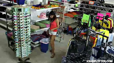 Shoplifter, Police, Latina teens