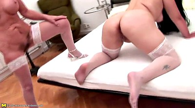 Mature lesbian, Granny lesbian, Old and young, Mature and young lesbian, Granny peeing