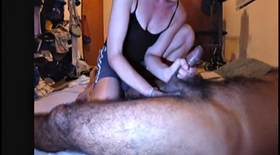 Prostate, Milking, Prostate milking, Hairy wife, Cum swallow, Interracial wife