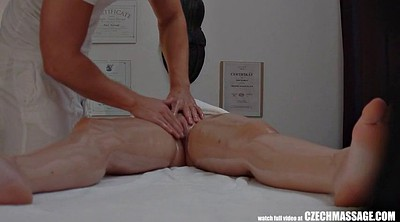 Czech massage, Voyeur massage, Hot milf