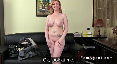 Female agent, Anal casting