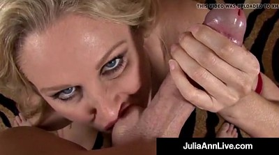 Julia, Double blowjob