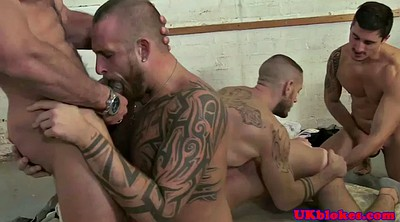 Muscle, British gangbang