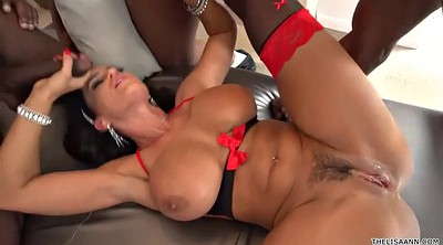 Lisa ann, Anne, Interracial anal