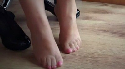 Feet, Nylon foot, Milf nylon, Nylon feet