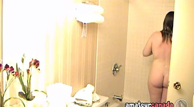 Teen voyeur, Shower hidden, Nerd, Motel, Hidden shower