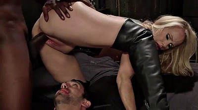 Boot, Leather, Bisexual, Cuckold mature, Leather boots, Bisexual threesome