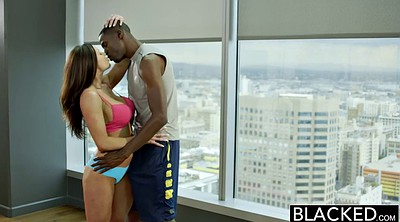 Kendra lust, Fitness, Interracial blowjob