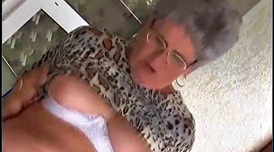 Granny, Granny orgasm, German mature