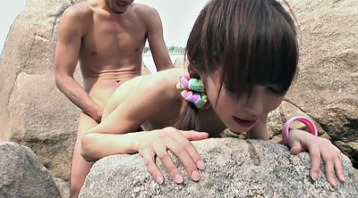 Japanese teen, Japanese handjob, Japanese outdoors
