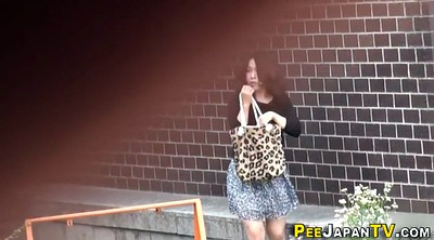 Piss, Peeing, Pissing voyeur, Asian public