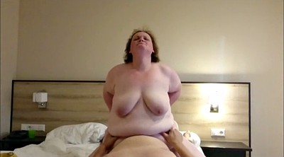 Bbw german, Bbw riding