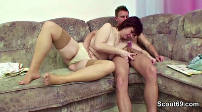 Couple, German milf, Granny boy, Step mother, Old couple, Mother fuck