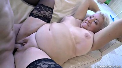 Bbw mature, Short hair, Chubby bbw, Short boy, Granny young boy