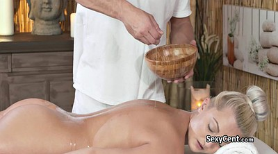 Table, Massage creampie