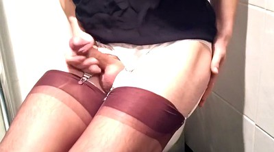 Nylon, Nylons, Gay cum