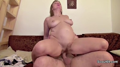 Mom, Milf, First time casting, Hairy bbw, Mature couple, Hairy mom