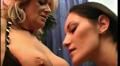 Mature dildo, Old and young lesbian