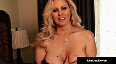 Julia ann, Mature orgasm, Avn