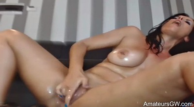 Squirt, Double anal, Squirt anal, Masturbation squirting, Masturbation squirt, Double dildos