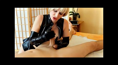 Glove, Gloves, Short hair, Latex femdom, Gloved
