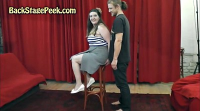 Bj, Backstage, Scene, Behind the scene, Bbw bj