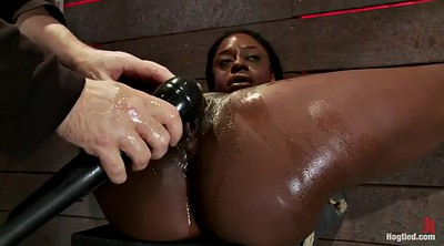 Bdsm, White, Black slave, Making, Hard black, Ebony slave