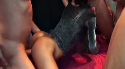 Sex party, Anal gangbang
