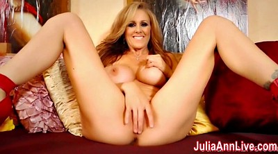 Julia ann, Red milf
