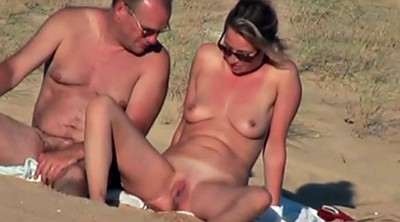 French, Nudist, Beach handjob