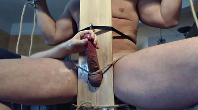Gay bdsm, Edging, Gay edging, Gay bondage, Chair