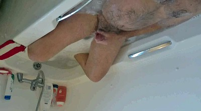 Voyeur, Dads, Shower voyeur, Dad gay, Caught masturbating