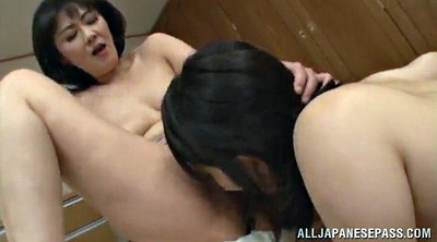 Finger, Man, Licking hairy pussy, Asian man